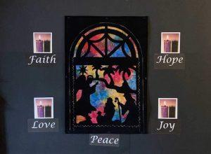 Faith. Hope. Love. Joy. Peace.