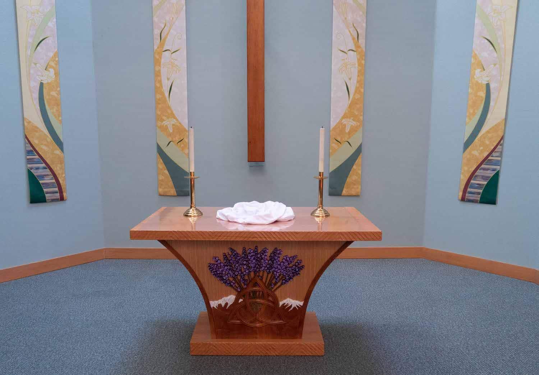 New Trinity UMC altar