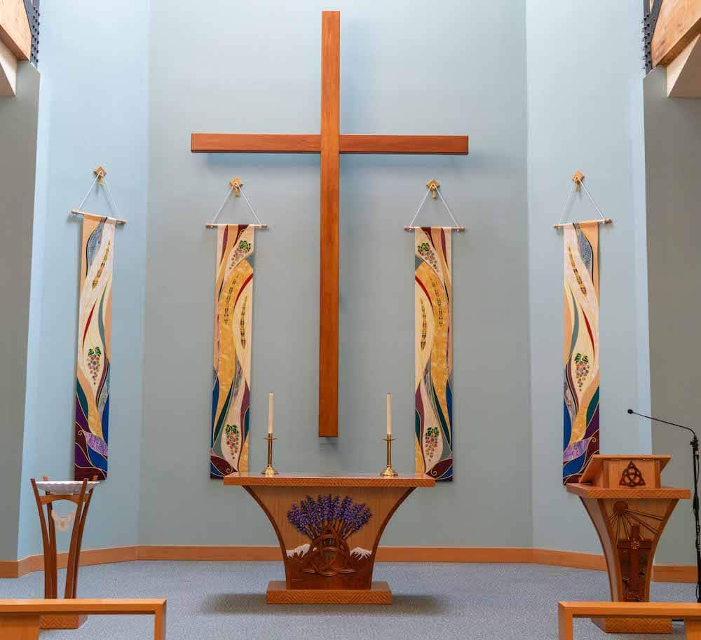 Trinity United Methodist Church sanctuary
